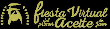 Logotipo Fiesta Virtual del primer aceite de Jaén